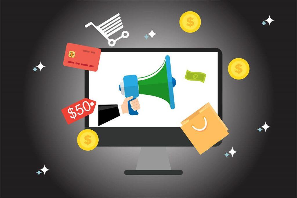 Prodaja preko interneta grafički element